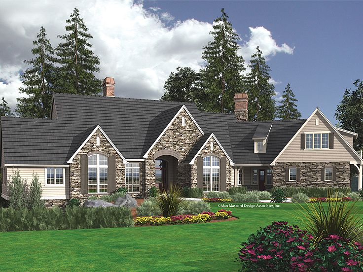 Premier Luxury Home Plan, 034H-0150