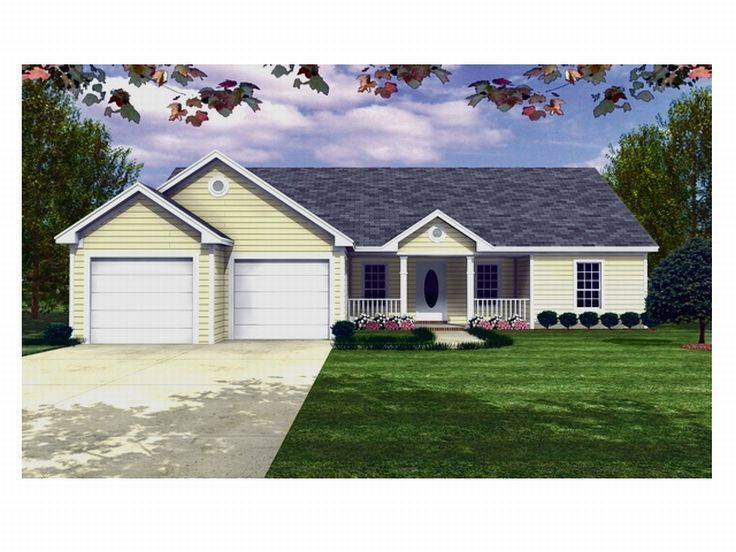 Affordable House Plan, 001H-0016
