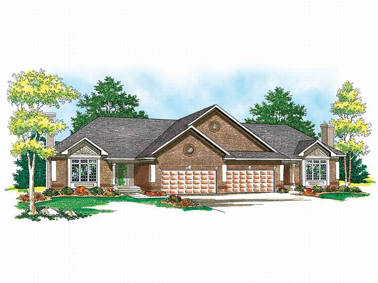 Multi-Family Home Plan, 020M-0014