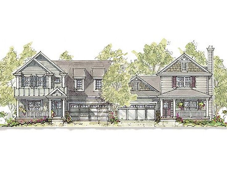 Multi-Family House Plan, 031M-0069