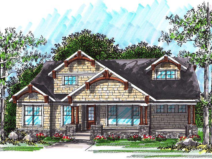 ranch home plan 020h 0249