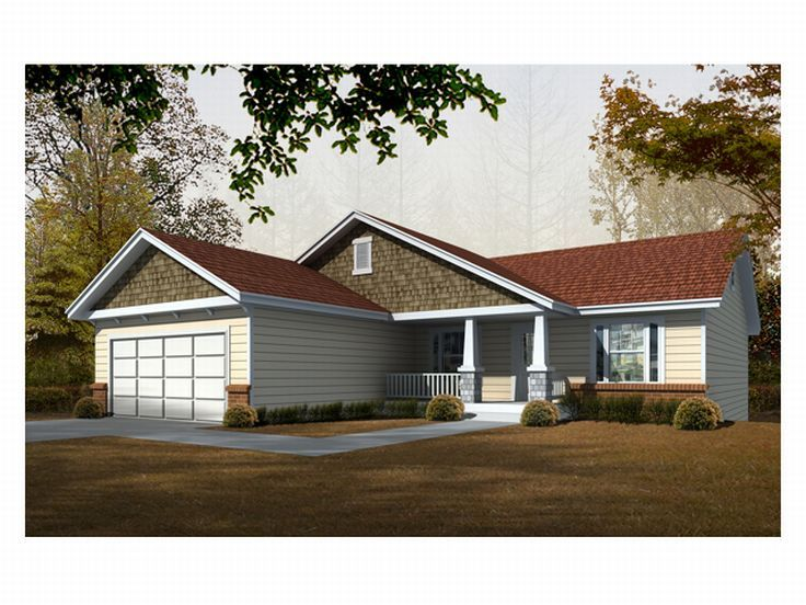 Craftsman Home Design, 018H-0006