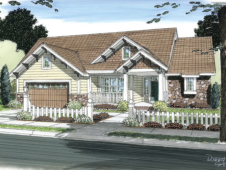 1-Story House Plan, 059H-0118