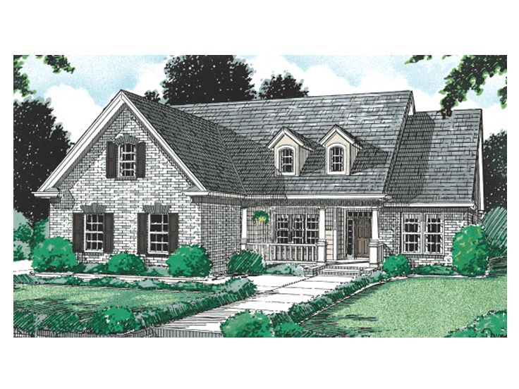 Country Home Design, 059H-0036