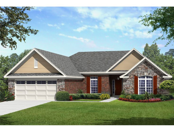 Plan 061h 0175 find unique house plans home plans and for Custom one story homes