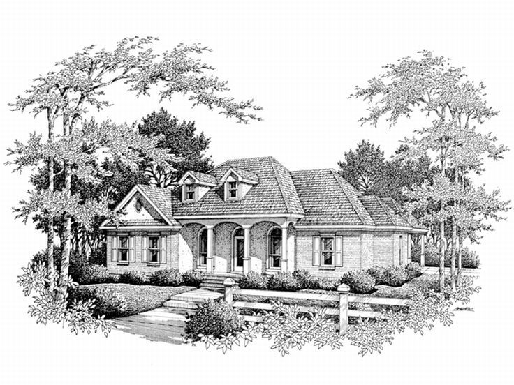 1-Story House Plan, 004H-0063