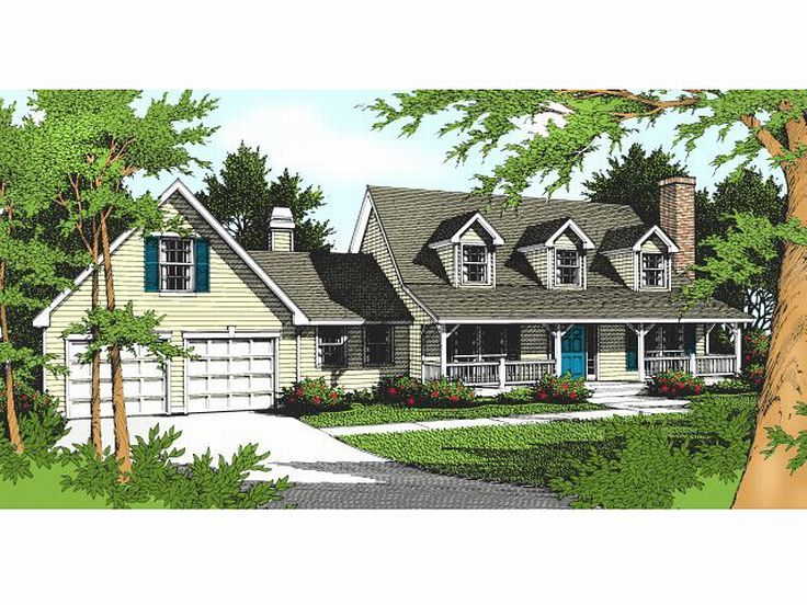 Country Home Plan, 026H-0029