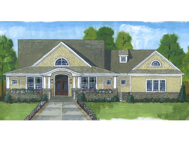 Country House Design, 046H-0099