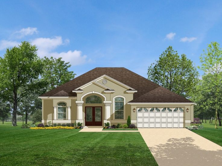 Plan 064h 0023 find unique house plans home plans and for Sunbelt house plans