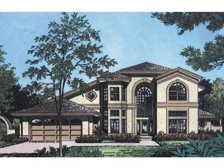 Two-Story Home Plan, 043H-0153