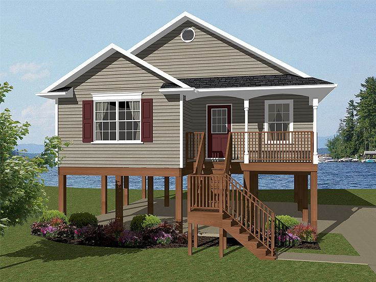 Coastal Home Plan, 004H-0102