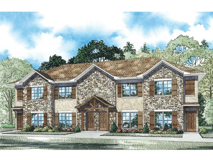 Multi-Family House Plan, 025M-0094
