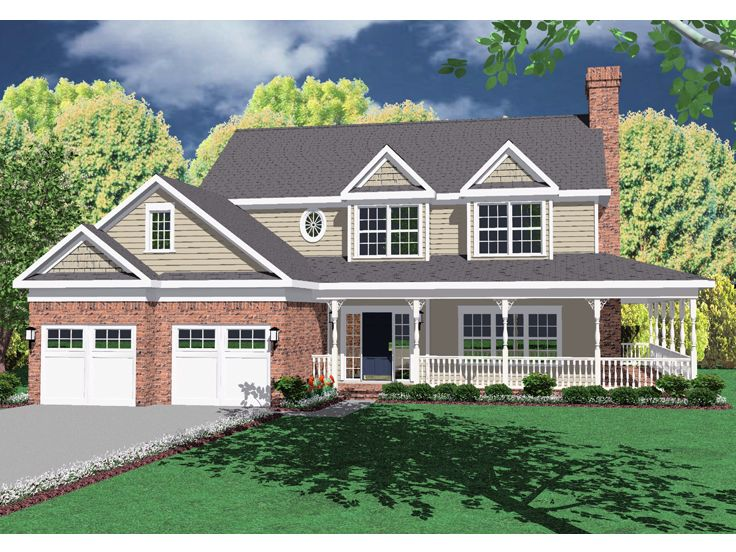 Country Home Design, 044H-0021