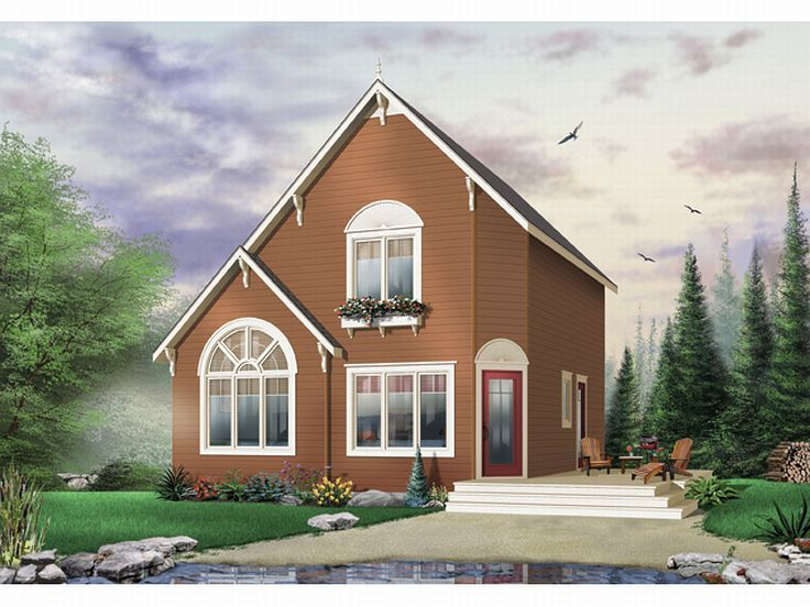Small Home Plan, 027H-0142