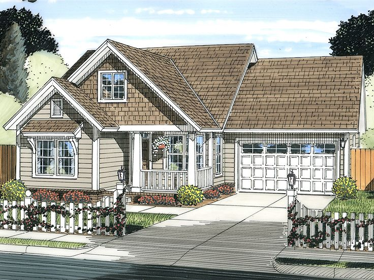 One-Story Home Plan, 059H-0181