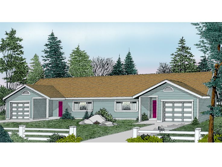 Plan 026m 0004 find unique house plans home plans and for Unique duplex plans