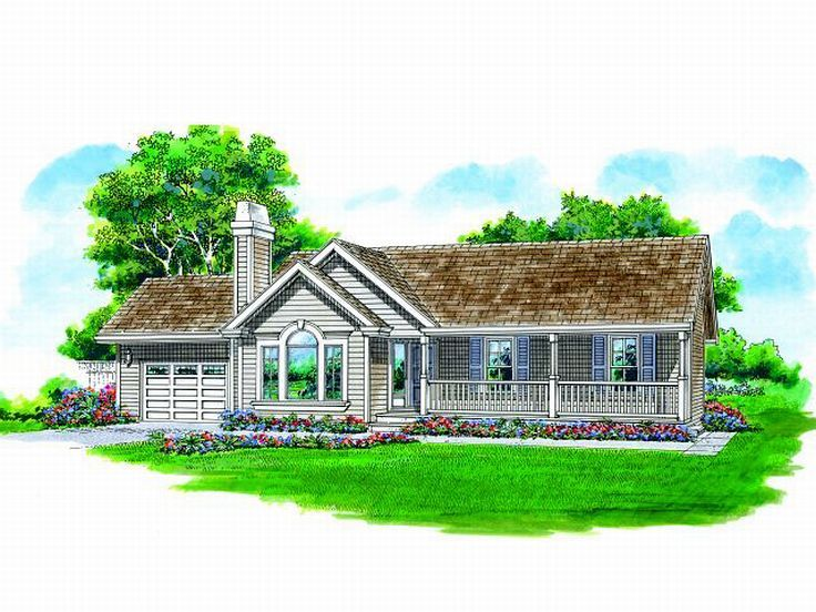 Small Home Plan, 032H-0063