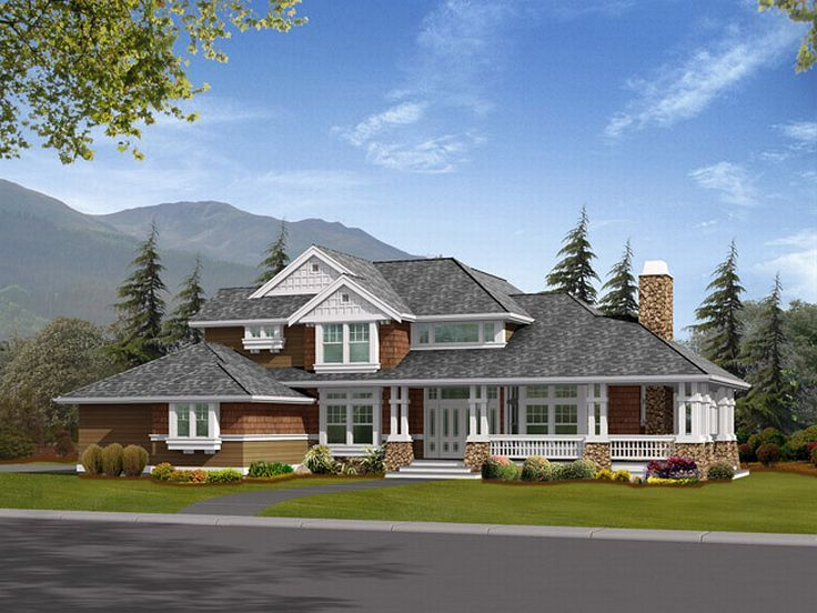 Country House Plan, 035H-0013
