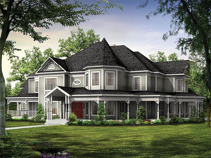 Victorian House Plan, 057H-0009