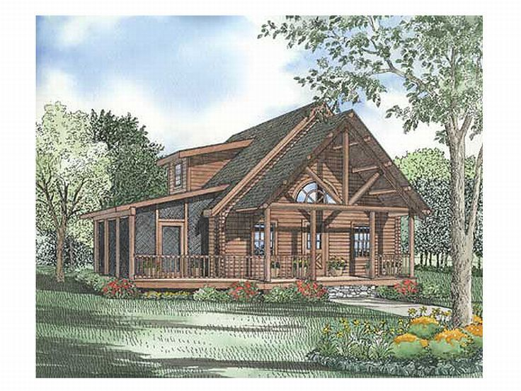 Page 4 of 11 Log House Plans The House Plan Shop Results 4964