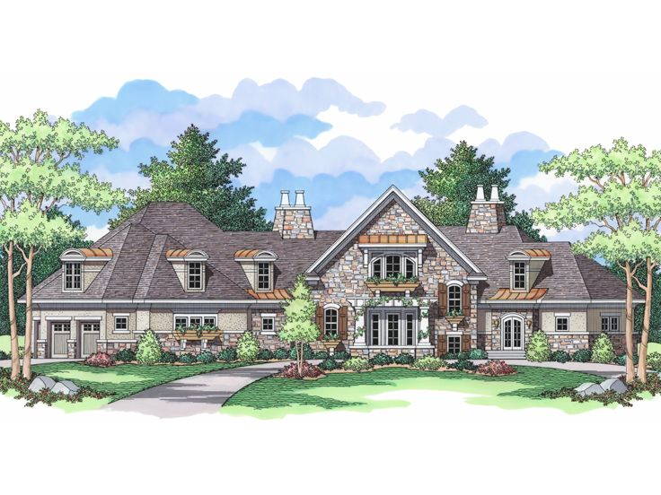 Unique House Plan, 023H-0151