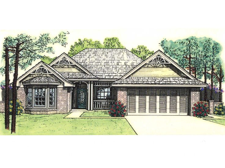 Affordable Home Plan, 002H-0004