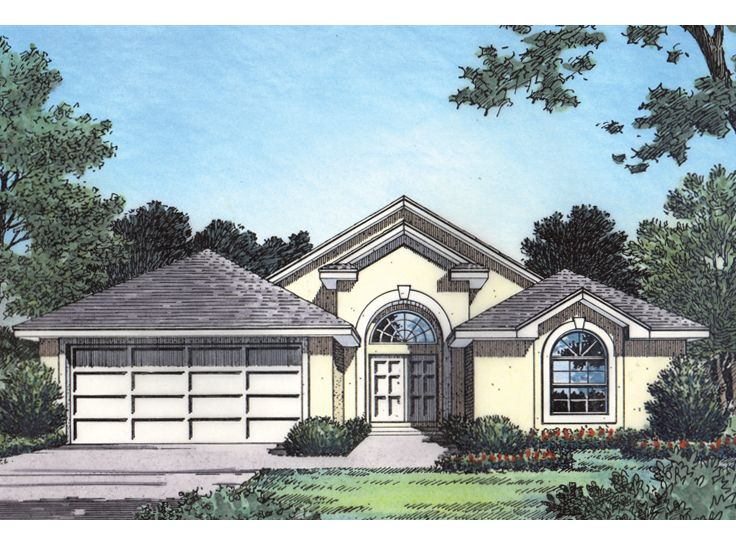 Contemporary House Plan, 043H-0035