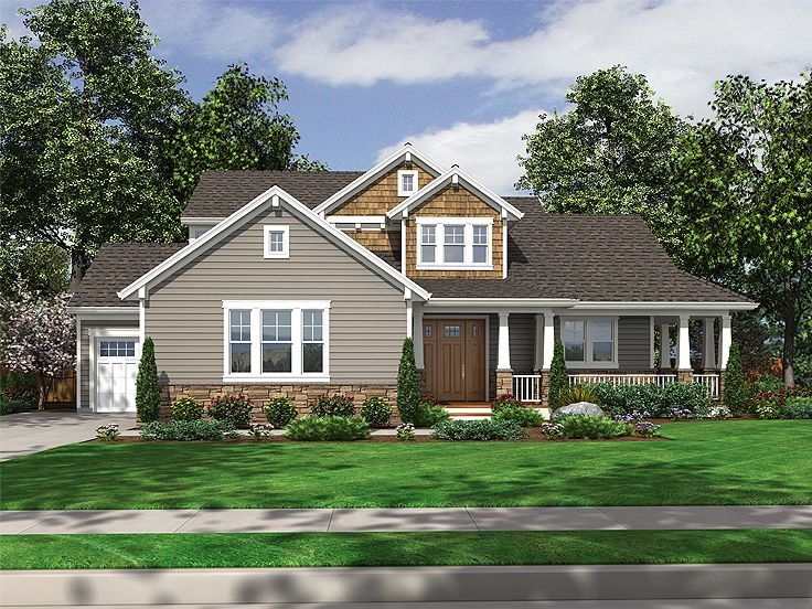 Country Craftsman House, 046H-0008
