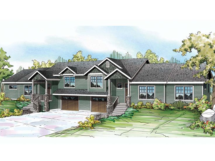 Multi-Family Plan, 051M-0021