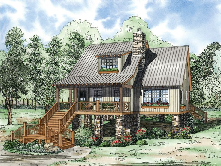 Narrow Lot House Design, 025H-0179