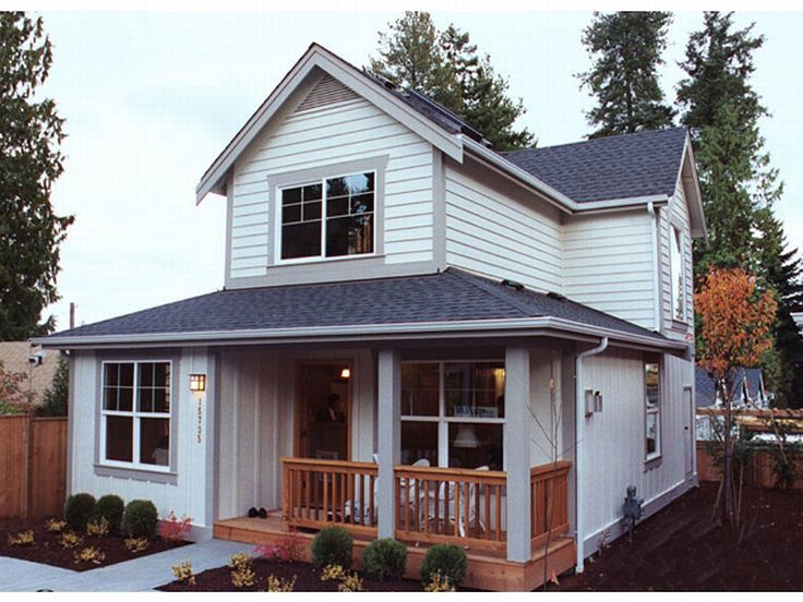 Narrow Lot House Plans The House Plan Shop