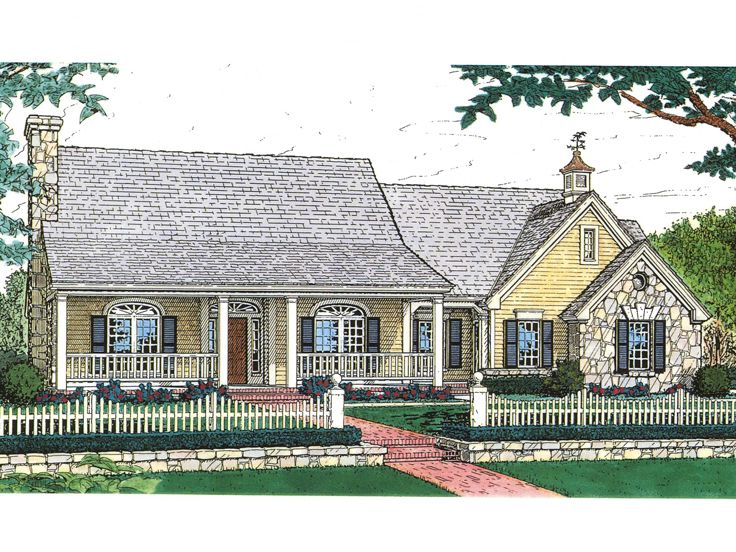 Country House Plan, 002H-0009