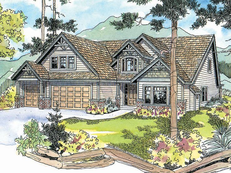 Craftsman Home Design, 051H-0104
