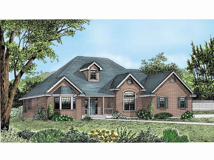 Traditional House Plan, 026H-0083
