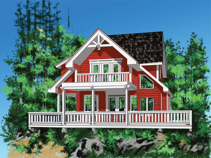 Mountain Home Plan, 010H-0026