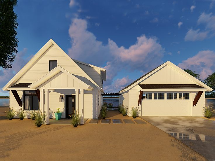 Small House Plan, 050H-0130