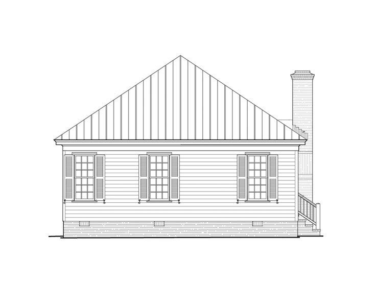 Narrow Lot House Plans Country Style Narrow Lot House