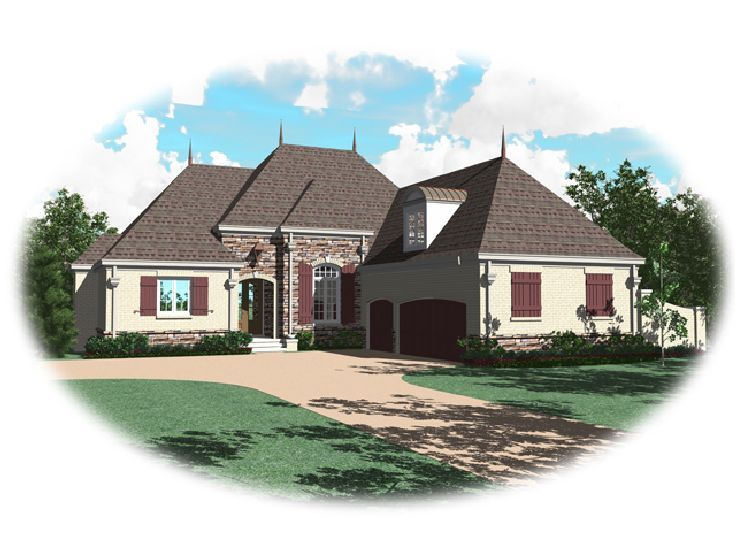 European Home Plan, 006H-0113