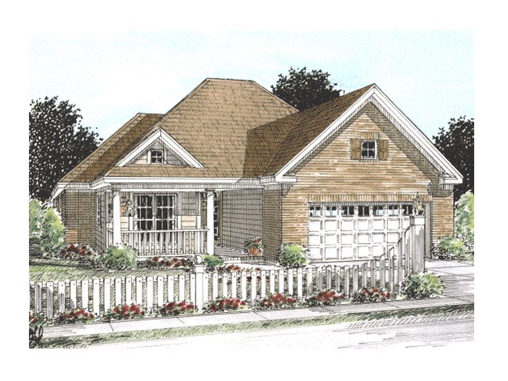 Empty-Nester Home Plan, 059H-0079