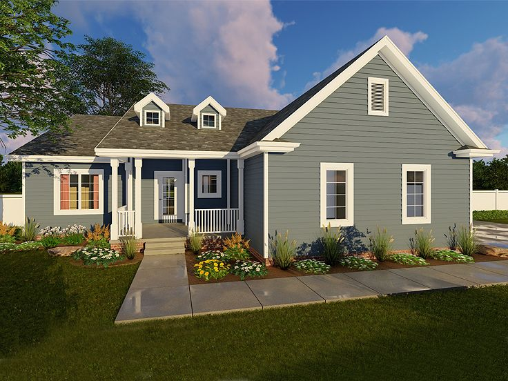 Small House Plan, 050H-0048