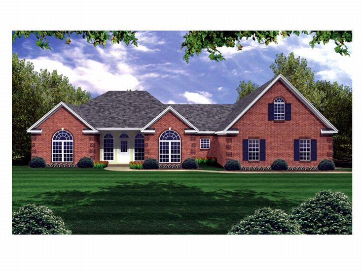 Traditional Home Plan, 001H-0104