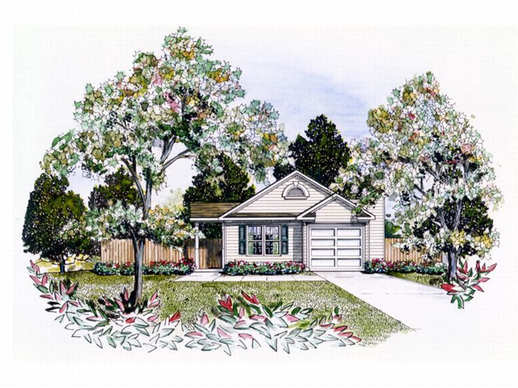 Small Home Plan, 019H-0028