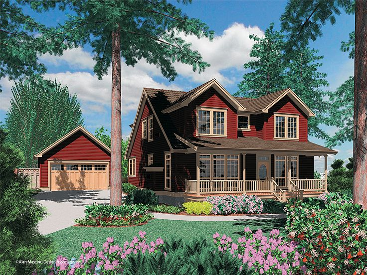 Country House Design, 034H-0220