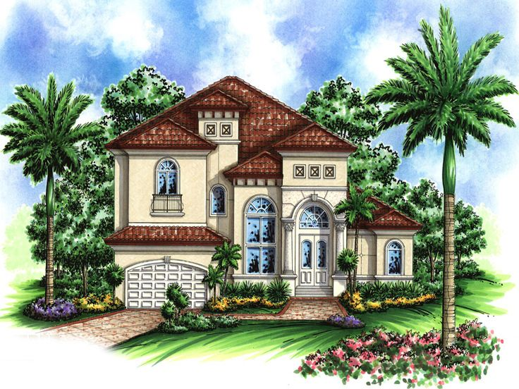 Sunbelt House Plan, 037H-0029