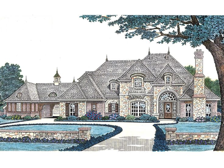 Luxury Home Design, 002H-0093
