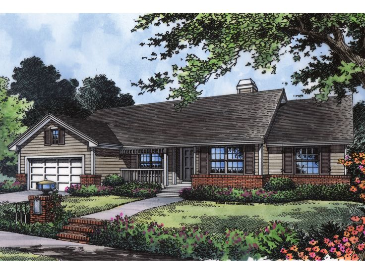 Traditional House Plan, 043H-0103