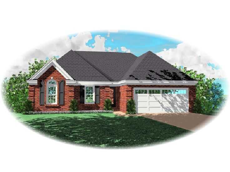 Small House Design, 006H-0051