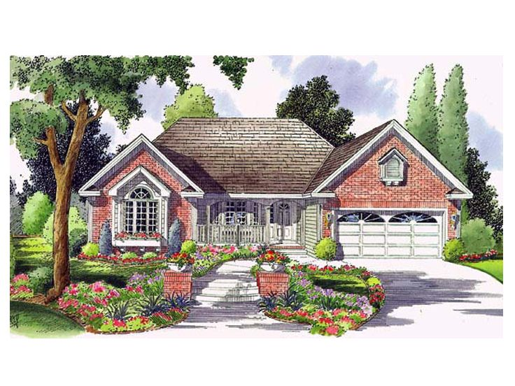 Traditional Home Plan, 046H-0025