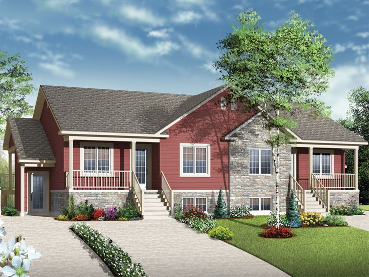 Plan 027m 0059 find unique house plans home plans and for 4 plex designs