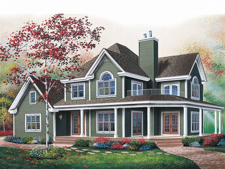 Country Home Plan, 027H-0150
